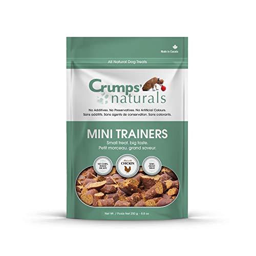 Crumps' Naturals Mini Trainers Chicken (Semi-Moist) (1 Pack), 250G/8.8 Oz