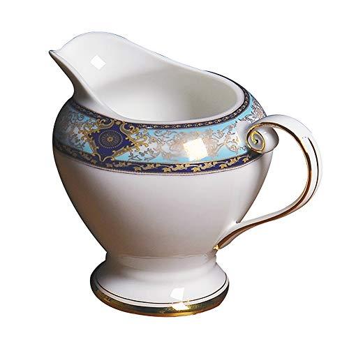 Taza leche de café de cerámica,BARROCO Estilo Leche Jarra Pulidor ...