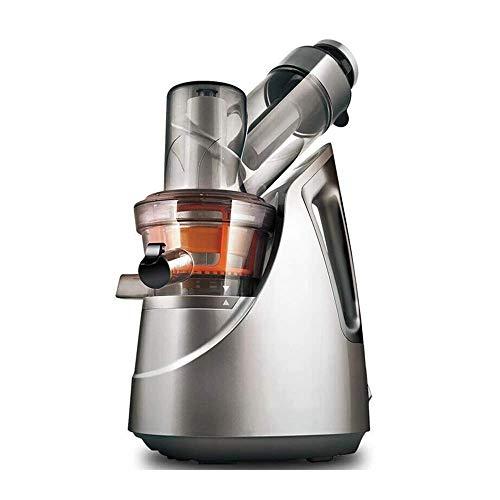 SXXYTCWL Envíe el exprimidor Lento de la Nave, el Extractor de jugos de Prensa en frío de masticación, función fácil de Limpiar, inverso, con Pincel y Recetas, sin BPA jianyou