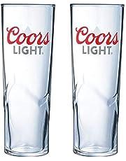 2 x Coors Light Pint-glas – färgändring
