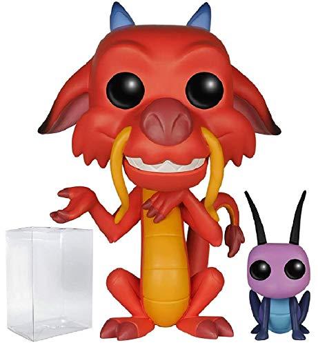 Disney Series 8: Mulan - Mushu & Cricket Vinyl Figure (Includes Compatible Pop Box Protector Case)