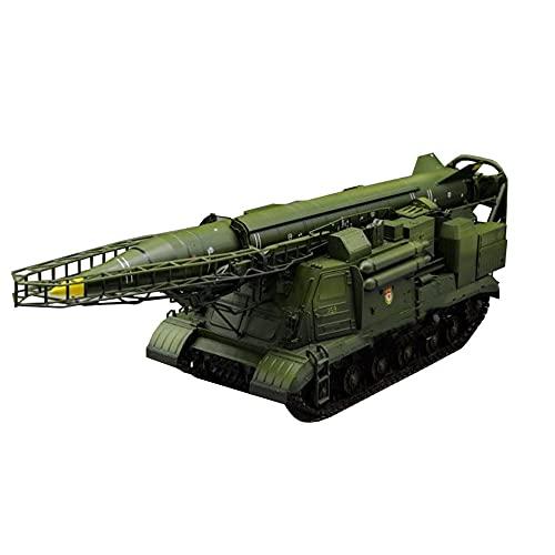CMO Maquetas de Maquetas de Tanques, Lanzador EX soviético 2P19 con misil R-17 Kits Modelo de Plástico, Escala 1/35, 14,4 x 3,9 Pulgadas
