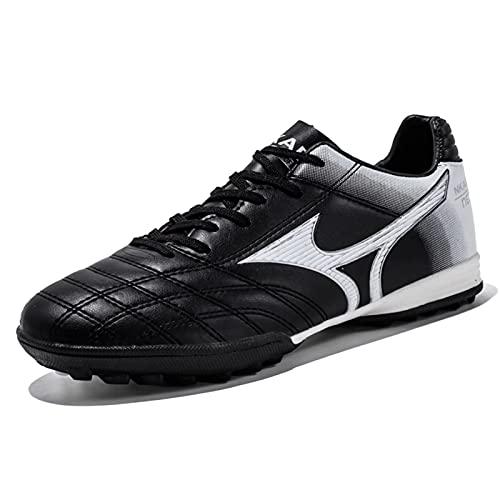 Cacagie Zapatillas de fútbol para hombre Cleats Athletics jóvenes, zapatillas de entrenamiento...