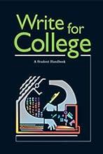 Write for College: College Handbook