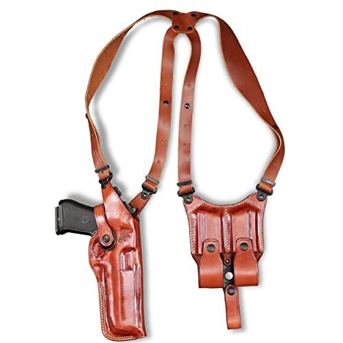 Premium Leather Vertical Shoulder Holster fits, Desert Eagle...