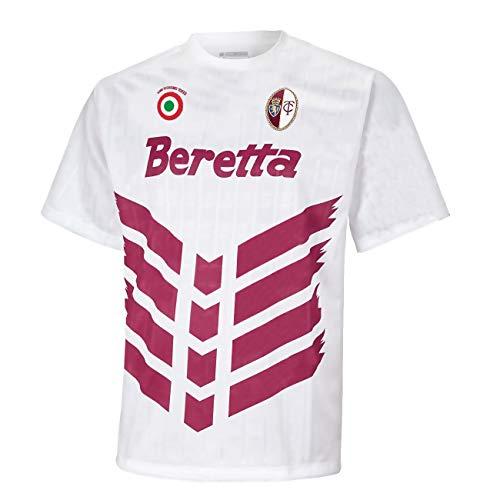 Generico Maglia Toro Beretta Coppa Italia 1992/93 Celebrity Vintage Retro Torino Calcio (S)
