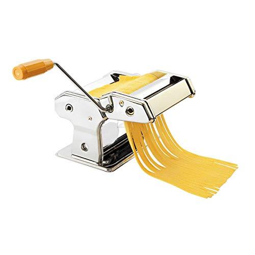 Nudelmaschine Manuell Ravioli Raviolimaker Pasta Maker Spaghetti (Nudelpresse, Raviolimaschine, Nudelmaker, Ravioliaufsatz, Edelstahl)
