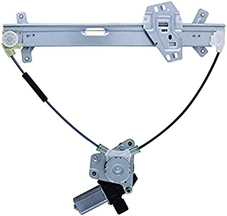 New Window Regulator W/Motor Front Drivers Side Left LH For 2003 2004 2005 2006 2007 Honda Accord 72250-SDN-A03, 72250SDNA03 741-304, 660110