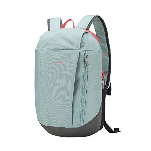 Quechua Decathlon Kids Adults Outdoor Backpack Daypack Mini Small Bookbags10L (Mint/New)