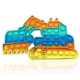 Fidget Toy Poppit Antistress Popit Game Pop Bubble, Dell'escavatore Toys...
