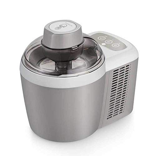 IW.HLMF Máquina automática para Hacer Helados, máquina de Yogur de Frutas con Sorbete Inteligente para el hogar de 600 ml, con Temporizador de Cuenta Regresiva para el hogar de Acero Inoxidable