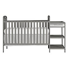 PATENT #6817046 / 8479328 B2 Two position full size folding crib,  Dream On Me Standard Mattress (Sold separately) Mattress Pad Included Cribs converts into a daybed and full size bed. Toddler Guardrail, Stabilizer and Full Size Rail each sold separa...