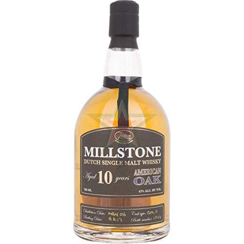 Millstone 10 Years Old Dutch Single Malt Whisky American Oak 43,00% 0,70 Liter