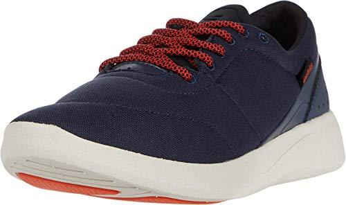 Etnies Balboa Bloom - Zapatillas de skate para hombre, azul (negro, anaranjado, azul marino (Navy/Black/Orange)), 38 EU