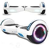 Magic Vida 6.5'' Self Balance Scooter Elettrico in Offerta Bluetooth con LED Auto bilanciamento (Bianco)
