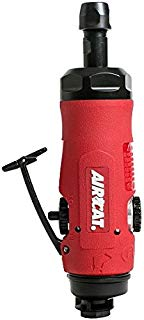 AIRCAT 6290 .7 HP Reversible Composite Straight Die Grinder, Small, Red