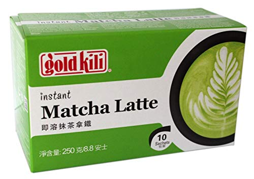 Gold Kili Matcha Latte Paquete Instantáneo, 1 x 10 x 25 Gr 21 g