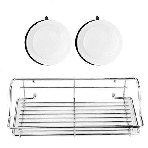 Alvinlite Ventosa Estante de baño Organizador de Soporte de Almacenamiento de baño para Accesorios de baño de Cocina