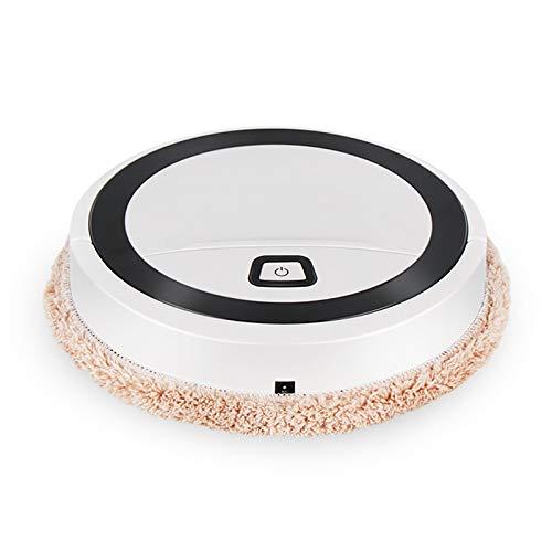 Riiai Robot inteligente de barrido para el hogar Limpiador de luz UV automático de lavado de piso que limpia la máquina de fregar giratoria barredora para mojado y seco