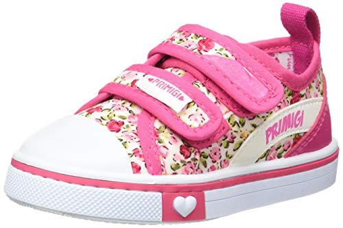 PRIMIGI Scarpa PRIMI PASSI Bambina, Zapatillas Niñas, Pink Panna Multicolo 5445600, 22 EU