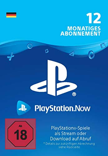PlayStation Now - Abonnement 12 Monate (deutsches Konto) | PS4 Download Code - deutsches Konto