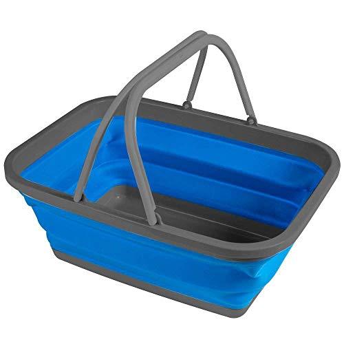 Kampa Faltbare Camping Waschschüssel -S-, Blau, Standard
