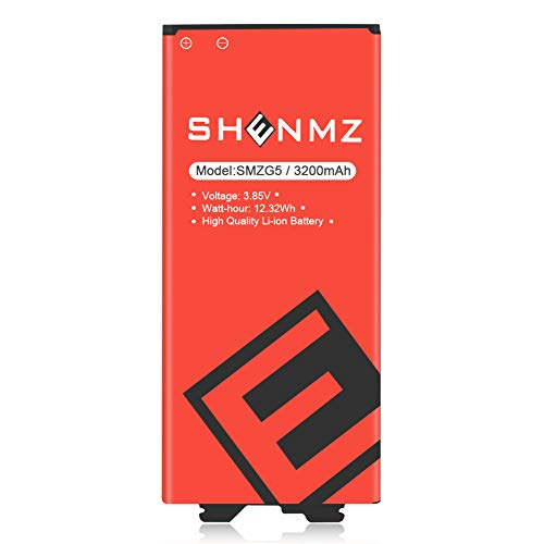 LG G5 Battery [Upgraded] 3200mAh SHENMZ Li-ion Battery Replacement for LG G5 BL-42D1F VS987 Verizon,H820 at&T, LS992 Sprint,H830 T-Mobile, US992,H845 Dual H850 H858 Spare Battery(12 Month Warranty)