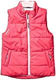 Amazon Essentials Girls' Big Heavy-Weight Puffer Vest, Raspberry Pink, Large