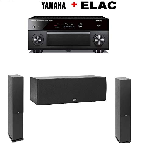 Best Price Yamaha RX-A3080 9.2-ch 4K Ultra HD AV Receiver Compatible with Alexa. + Pair of Elac F5.2...