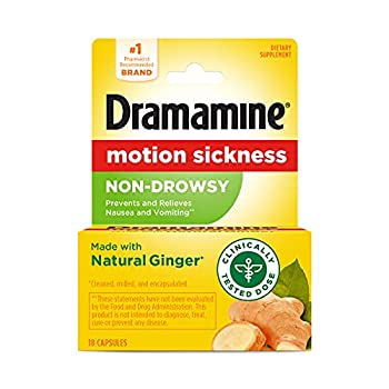 Dramamine Motion Sickness Non-Drowsy 18 Count