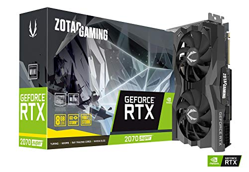 ZOTAC Gaming GeForce RTX 2070 Super Mini 8GB GDDR6 256-Bit...