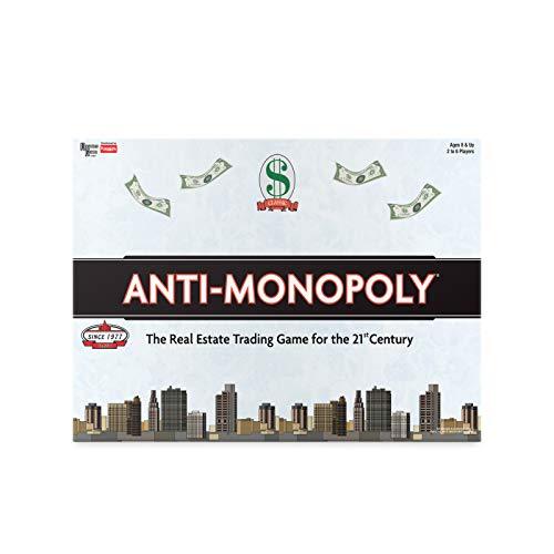 University Games 8509 Anti-Monopoly - Juego de Mesa [Importado de Alemania]