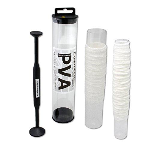 PVA mesh 16 metre TRIO deal = 8m of 25mm micro & 8m of 35mm wide pva + plunger