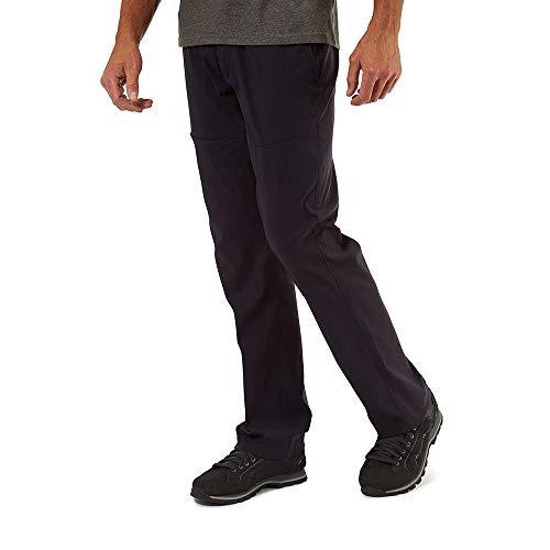 Craghoppers Kiwi PRO - Pantaloni da Trekking da Uomo, Uomo, Pantaloni da Escursionismo, CMJ564L 3G3030, Dk Navy, 30W Long