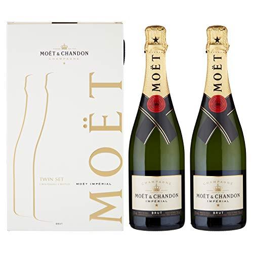 Moet & Chandon Champagne 0,75 lt. - Pack de 2 botellas