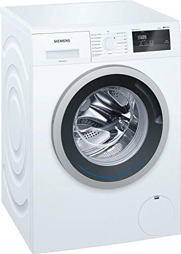 Siemens iQ300 WM14N0G1 Waschmaschine Freistehend Frontlader Weiß 7 kg 1390 RPM A+++ - Waschmaschinen (Freistehend, Frontlader, Weiß, Drehregler, Berührung, Links, LED)