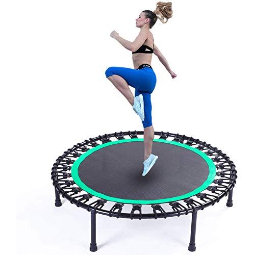 UIZSDIUZ 40'45' 48'50' Mini Trampoline, Fitness Trampoline, Estable y Tranquilo Ejercicio Cebounder para niños Adultos Interior/Entrenamiento de jardín