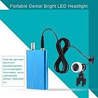 歯科用ヘッドライト、小型歯科用LEDヘッドライト、医学生外科医用精密エンジニア歯科医