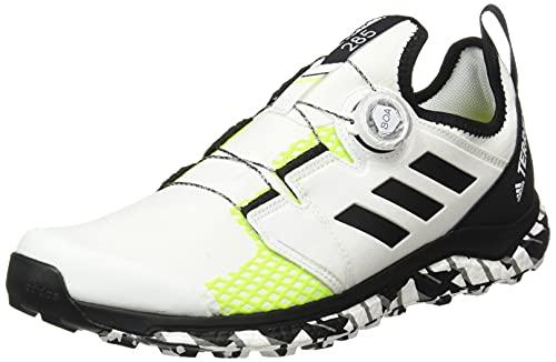 adidas Terrex Agravic Boa, Zapatillas de Trail Running Hombre, NONDYE/NEGBÁS/Amasol, 43 1/3 EU