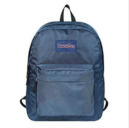 Students Teens Rugzak, uniseks, lichte en stijlvolle bookbag-rugzak voor studenten met gevoerde schouderriemen PNYGJIBB 42 * 17 * 32cm E