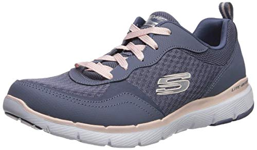 Skechers Damen Flex Appeal 3.0-go Forward Sneaker, Grau, 39 EU