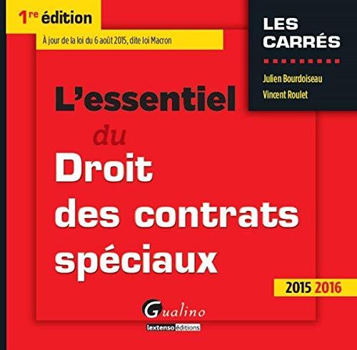 L'Essentiel du Droit des contrats...
