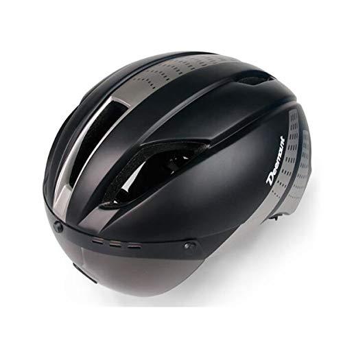 COEWSKE Bike Helmet Adjustable Breathable Bicycle Helmet with Detachable Goggles for Men and Women...