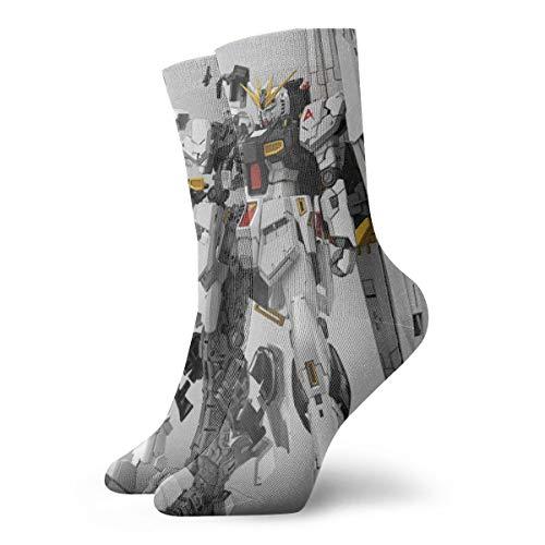 Mobiler Anzug Gundam Antelope Cartoon Avatar Herren/Damen Sensitive Feet Wide Fit Crew Socken und Cotton Crew Sportsocken