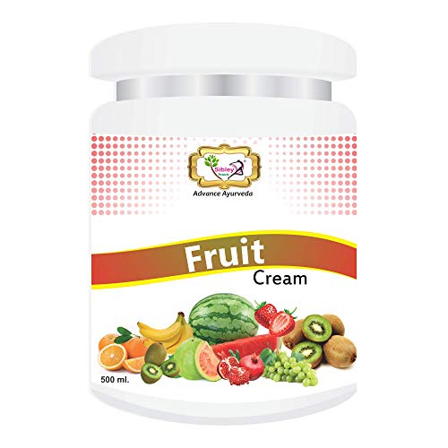 Sibley Beauty Mix-Fruit Facial Massage Cream for Face (1 x 500 gm.) - for brightening, smoothening, facial glow, oily dry normal combination skin, men women girls boys - Salon Pack Products