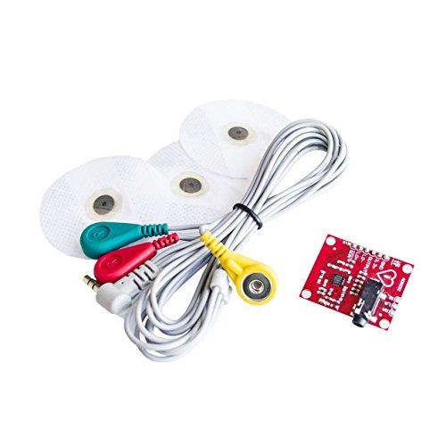 Módulo ecg AD8232 ecg medición pulso corazón ecg monitor módulo sensor kit
