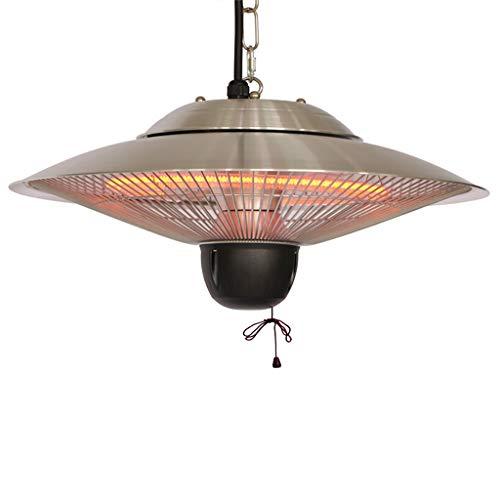 LP-warmtestraler voor verwarming, verwarming en verlichting op het terras of in het paviljoen, elegant en veilig, voor plafondmontage, voor binnen en buiten