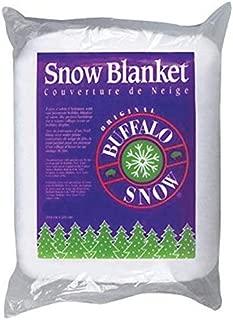 BUFFALO BATT & FELT CB1166 Snow Blanket for Christmas Decoration, 45 by 99-Inch
