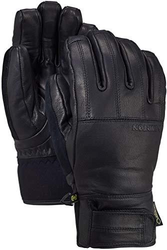 Burton Mens Gondy Gore Leather Glove, True Black New, Medium