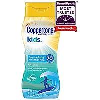 Coppertone Kids Water-Resistant Sunscreen Lotion, 8 Fl Oz